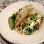 BBQ Chicken Tacos: Gluten Free