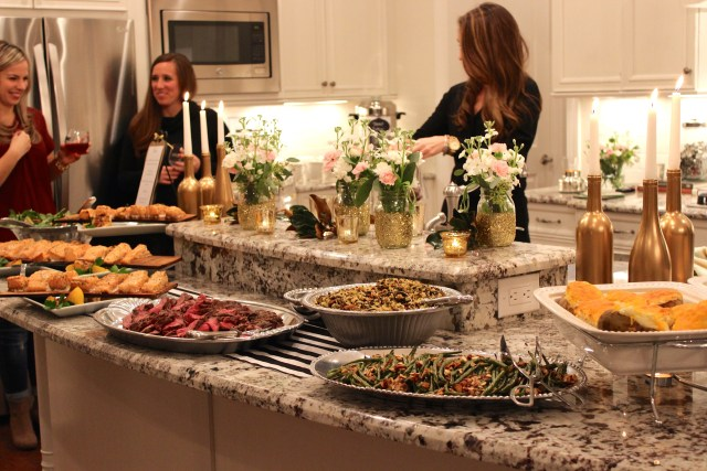 food, dinner party
