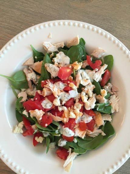spicy healthy chicken salad