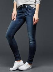 Gap dark skinny jeans