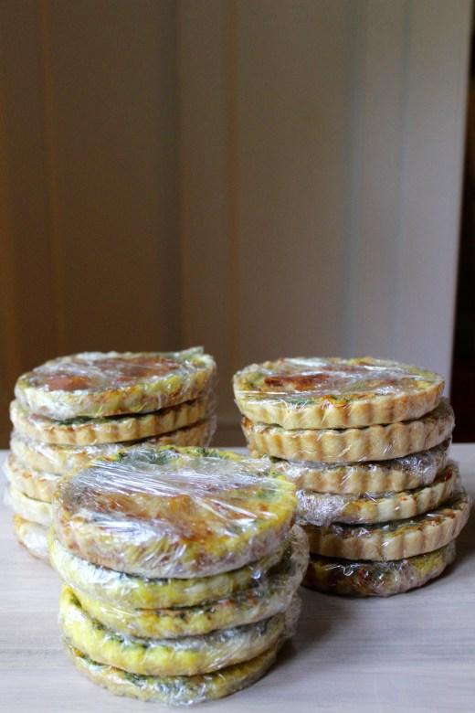 freezer meals recipe, quiche