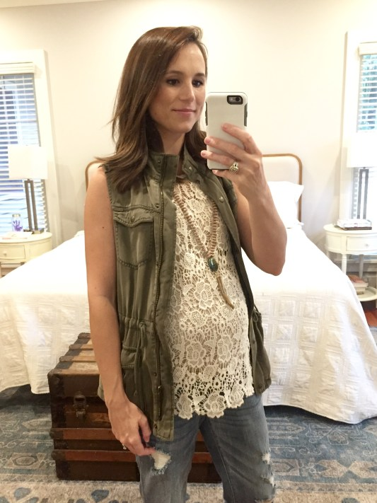 30 weeks pregnant maternity style