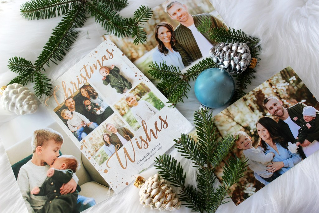 Christmas card 2016 with tinyprints; family photos and christmas card