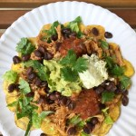 Plantain Chip Nachos