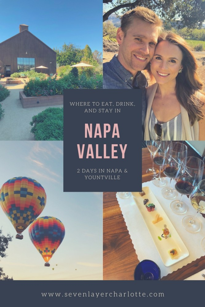 our trip to napa and san francisco; 2 days in yountville and napa