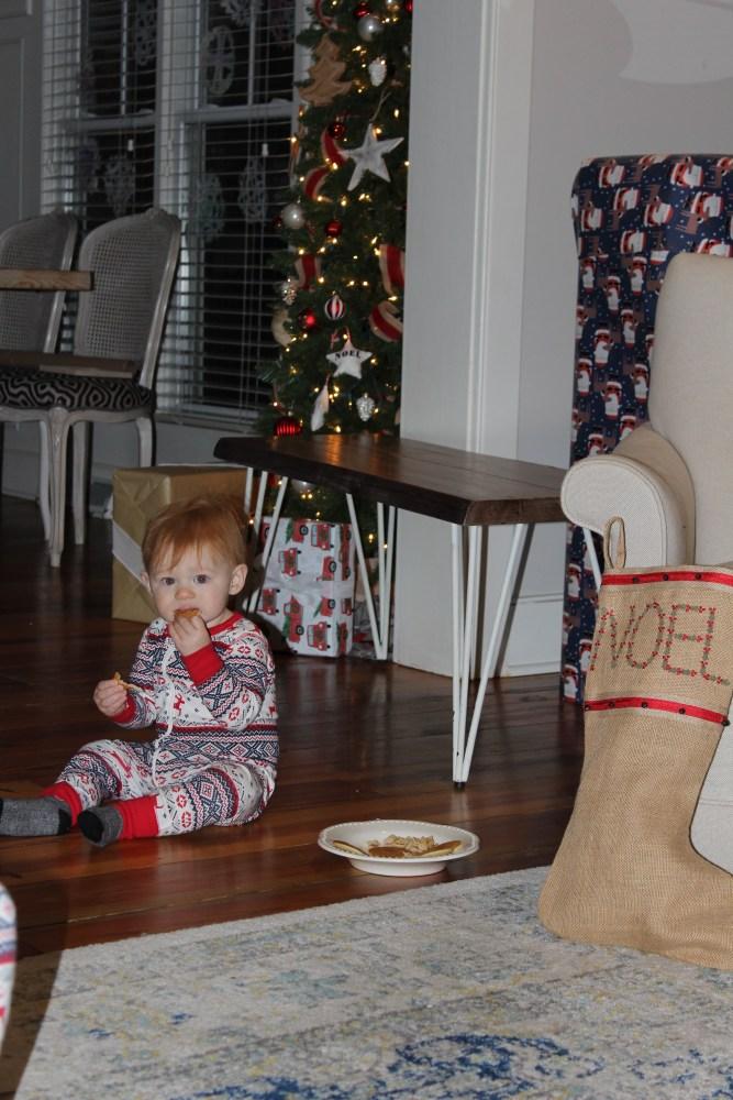 gluten free cinnamon rolls and christmas morning 2017