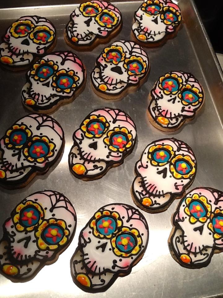 Diaz De Los Muertos Cookies