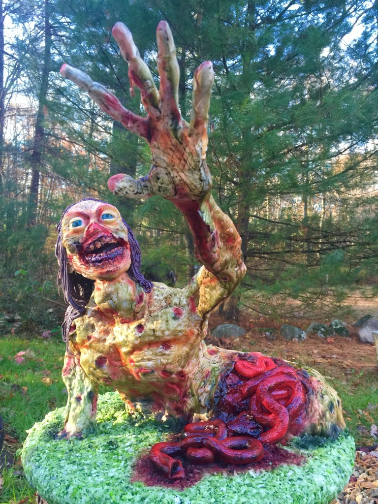Halloween Zombie Cake