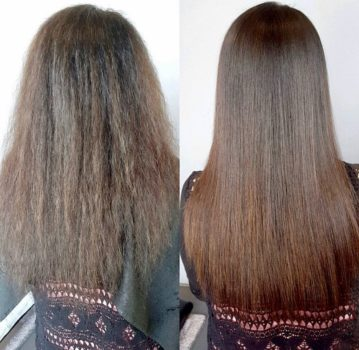 Frizz free and Smooth Hair