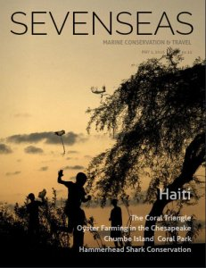 haiti may 1 sevenseas media issue cover marine conservation and travel