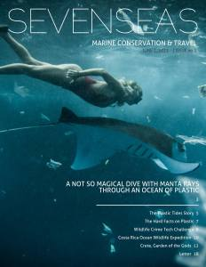 first issue june 2015 sevenseas media issue cover marine conservation and travel