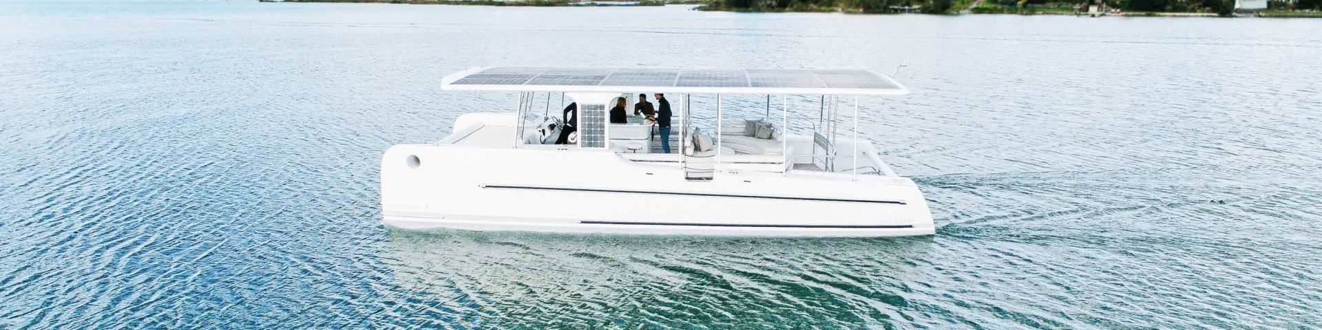 SoelCat solar electric boat for sustainable tourism
