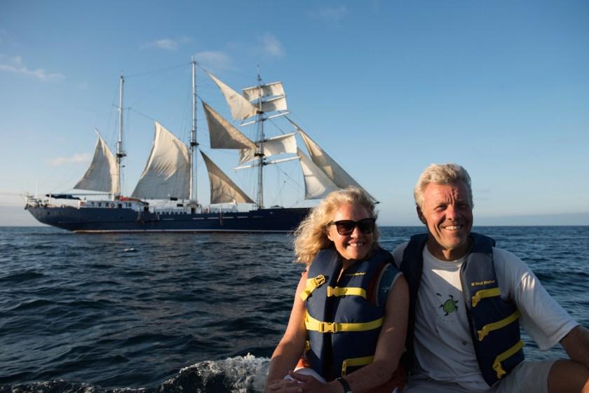 pete Oxford & Renee Bish SS Mary Ann Galapagos Ecuador, South America
