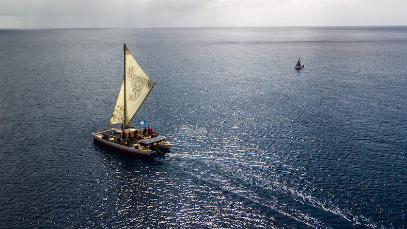 Sustainable Sailboats Help Nuclear Victims Reclaim Voyaging Identity