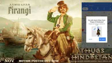 Photo of 'Thugs Of Hindostan' team YRF collaborates with Google Maps for Navigation Promotion