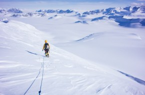 Descending from a first Ascent in Antarctica