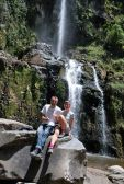 Waterfall near Otavalo