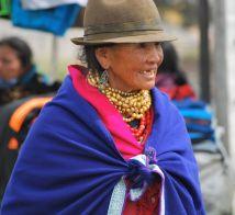 Indigenous woman, Otavalo