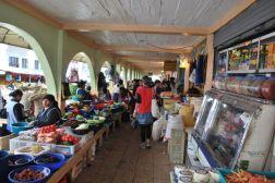 Food market, Otavalo, Ecuador