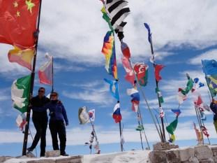 Flag display, Uyuni