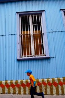 Street scene, Valparaiso