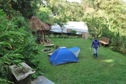 Camping in Coroico