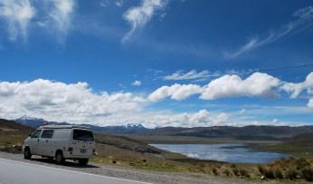Driving to Huaraz, Peru
