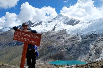 Punta Union pass, Santa Cruz trek, Cordillera Blanca, Peru