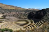 It's said that the Incas built these terraces at Moray to create an experimental micro-climate.