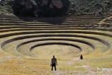 Inca ruins, Moray, Peru