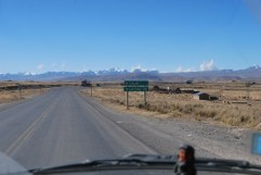 Driving to La Paz, Bolivia