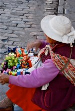 Street vendor, Cusco, Peru