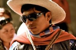 Cowboy costume, Cusco, Peru