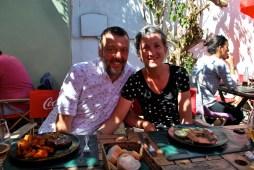 Birthday lunch, Colonia, Uruguay