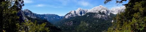 View from Arco Iris trek, La Junta