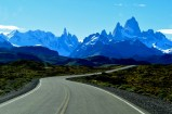 Incredible views as we approached El Chalten and the Fitz Roy mountain range. Parque Nacional Los Glaciares, Argentina.