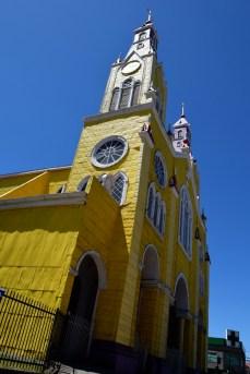 Church in Castro, Chiloé