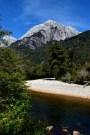 River beach, La Junta, Chile