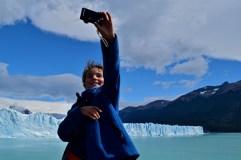 Leo selfie, Perito Moreno glaciar