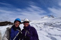 Me and Karen, Castaño Overo glacier