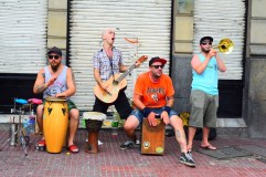 Street music, San Telmo, Buenos Aires.
