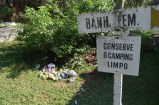 'Keep the campsite clean' - Brazil.