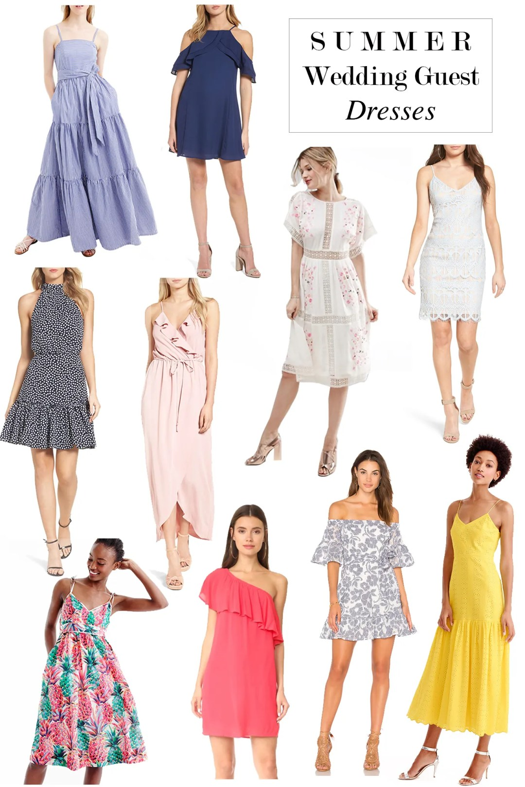 Summer Wedding Guest Dresses Seventeen Dresses Life Style Blog