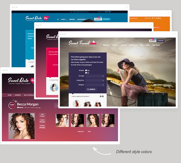 Sweet Date - More than a WordPress Dating Theme - 19