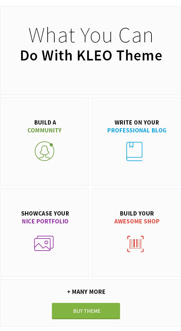 KLEO - Pro Community Focused, Multi-Purpose BuddyPress Theme - 7