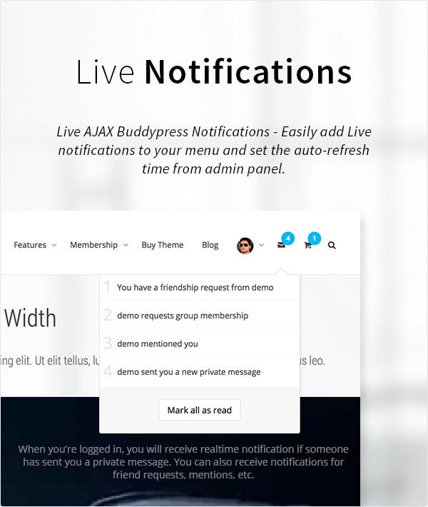KLEO - Pro Community Focused, Multi-Purpose BuddyPress Theme - 14