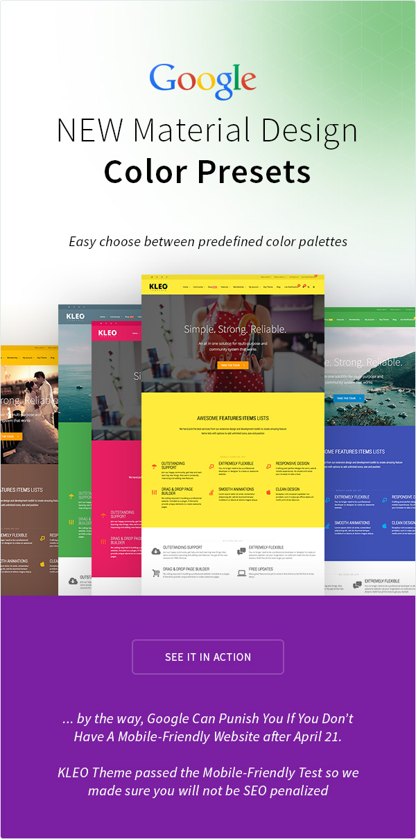KLEO - Pro Community Focused, Multi-Purpose BuddyPress Theme - 15