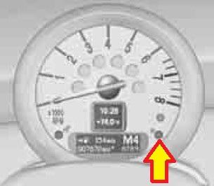 mini service minder engine oil reset