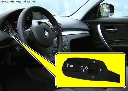 BMW tpm tire pressure light reset