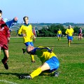 Sunday league football game